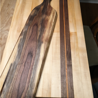 Cutting Board and Serving Board